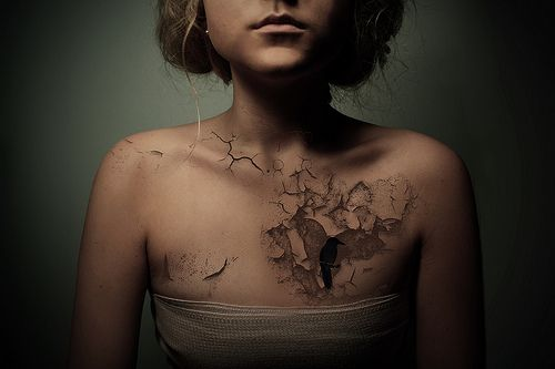 I like this!3D Tattoo, Birds Tattoo, Tattoo Artists, Heart Breaking, A Tattoo, Heart Broken, Broken Heart, Sweets Tattoo, Cool Tattoo