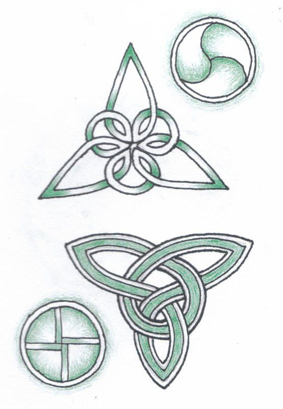 Celtic Patterns by robertsloan2.deviantart.com on @DeviantArt