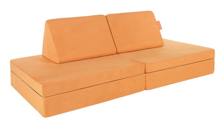 Cantaloupe Nugget | Kids sofa, Kids couch, Nugget