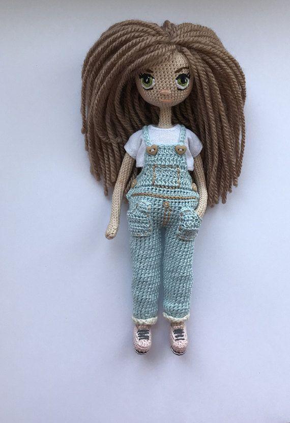 Crochet Handmade Soft Gift Interioir Stuffed Girl Cute Aria ... | 830x570