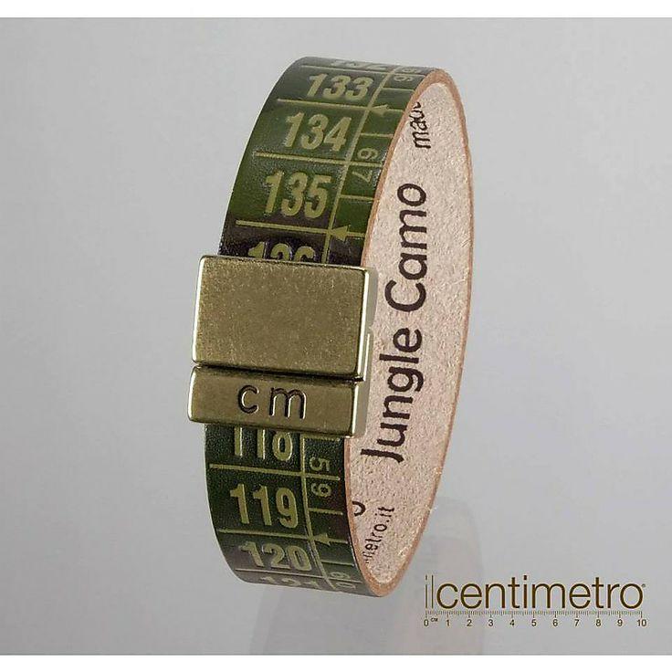 Il Centimetro Bracciale Camouflage mimetico unisex Jungle Camo  http://www.gioiellivarlotta.it/product.php?id_product=1412