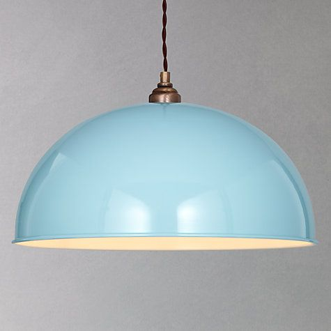 John Lewis Plymouth pendant in blue