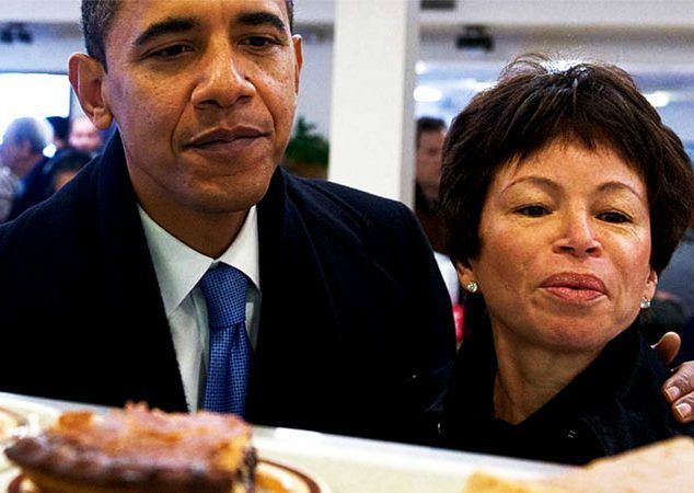 Shadow Government Headquarters Complete As Muslim Valerie Jarrett Moves Into Obama's New Home