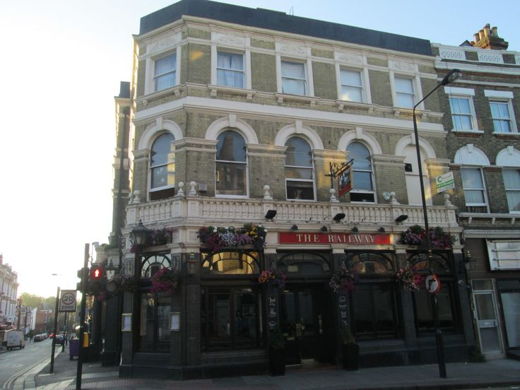 The site of Klooks Kleek, above The Railway Hotel - It became The Moonlight Club, where The Stone Roses performed their first gig in 1984 supporting Pete Townshend. PJ Harvey played her first London gig here in August 1991
