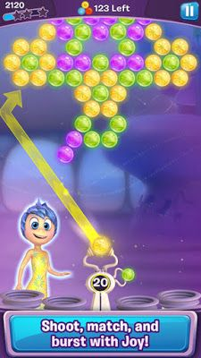 Inside Out Thought Bubbles - A Puzzle Game from Disney Based on Inside Out Film  #Disney