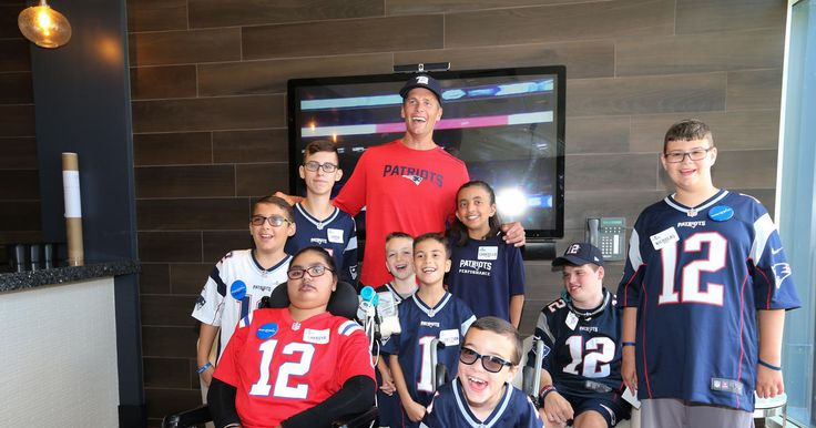 Patriots QB Tom Brady met some of his biggest fans and made the dreams of nine children come true during a Make-a-Wish event on Wednesday, July 26, 2017.