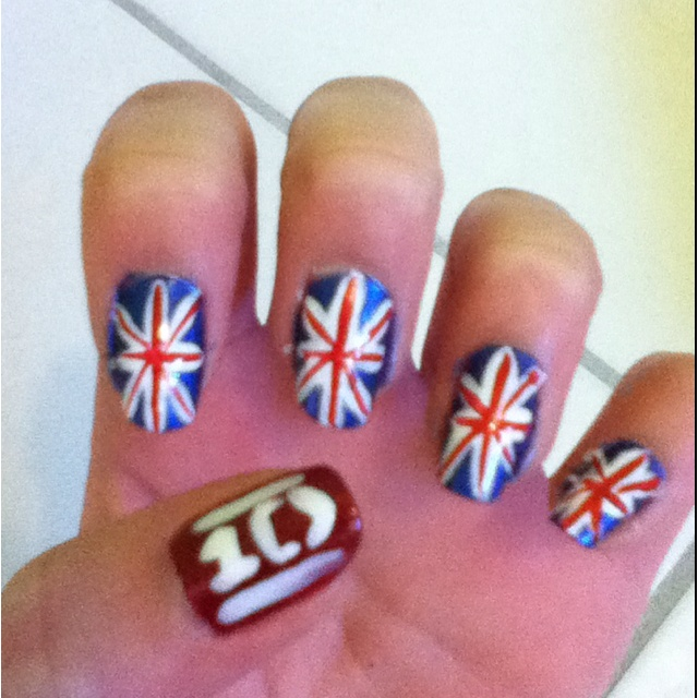 One Direction nail art :)
