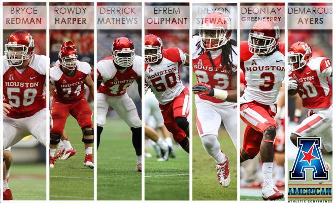 Houston Lands 16 on Phil Steele's Preseason AAC Team - University ...