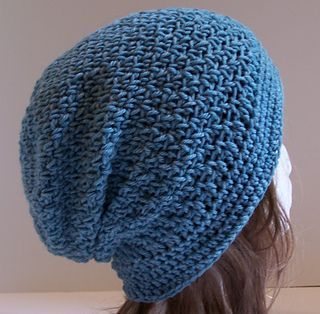 Ginger Slouchy Hat by Kristina Olson - free