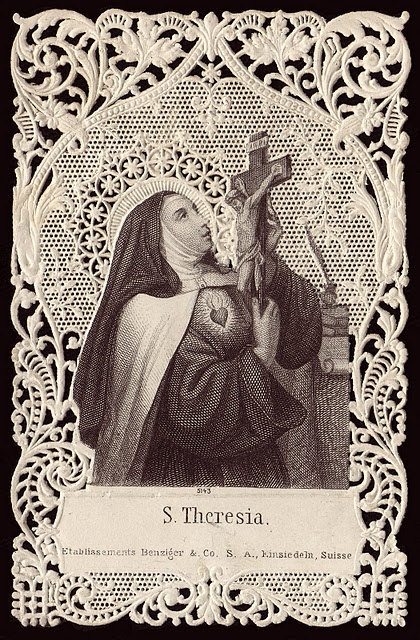 St. Teresa of Avila 1515-1582  Mystic and poet. St Teresa of Avila lived through the Spanish inquisition but avoided been placed on trial despite her mystical revelations. She helped to reform the tradition of Catholicism and steer the religion away from fanaticism.
