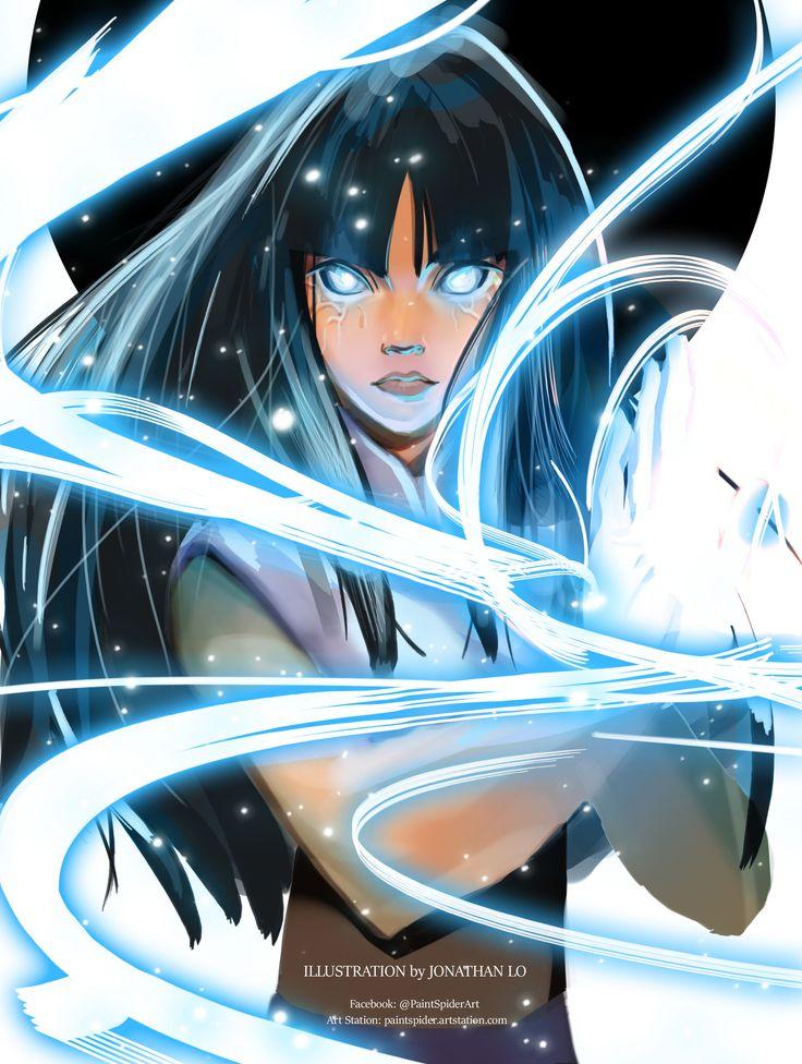 ArtStation - Hinata Hyuga, jonathan lo