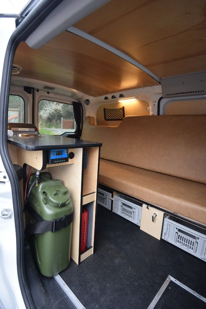 Cascade Campers Kit Creates A Stealth Two Person Mini Campervan