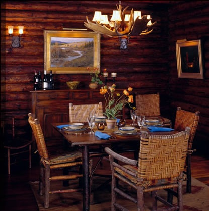 Old Hickory Dining Table And Chairs...the Oldest Furniture Company In The  US · Mountain CabinsLog ...