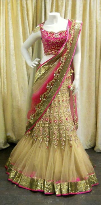 Engagement lehnga!