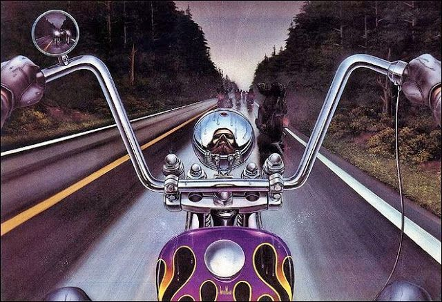 Motoblogn: David Mann - The Norman Rockwell of Biker Art - Gallery 3