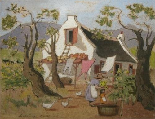 Walter Battiss (1906 - 1982) | Impressionism | Landscape Near the Hekpoort Road
