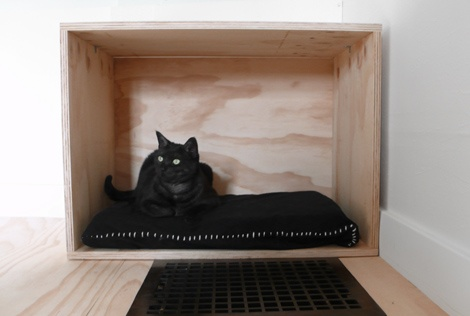 DIY Simple Cat Bed
