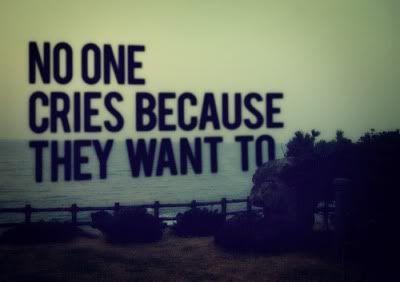 """""""Nadie llora solo por que quiera"""""""