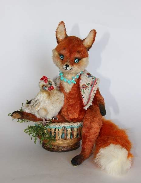 The Fox and the chicken By Averina Olesya - Bear Pile