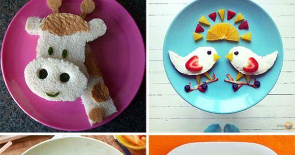 50+ Adorable Kids Snack Ideas | Snacks Ideas, Food Art and Snacks