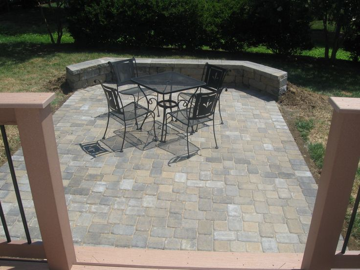 find this pin and more on patio deck ideas - Backyard Patio Deck Ideas