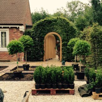 Behind the scenes - garden design and landscapes - surveys - all garden design styles & sizes of garden in Newbury, Reading, Berkshire and Oxfordshire area
