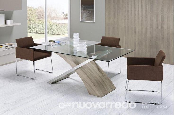 Nuovarredo - Scheda prodotto: 752533-Tavolo rettangolare - Tavoli in stile Moderno