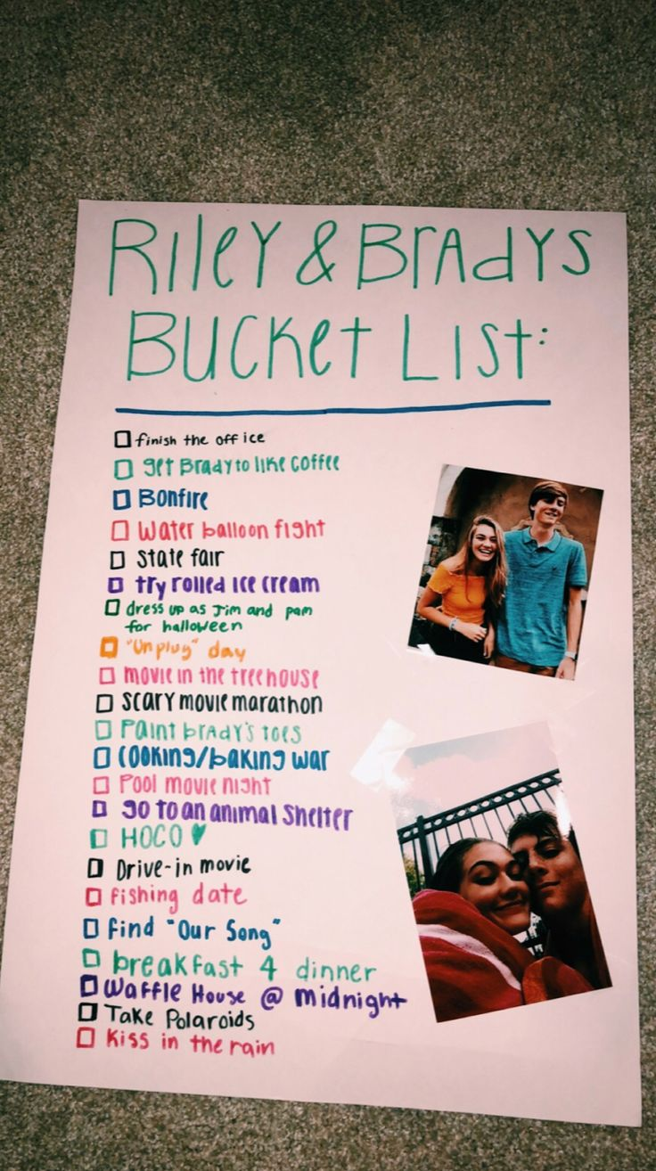 "THIS BUT LIKE ""DAKOTA AND WILLS WINTER BUCKET LIST"" THEN FOR SUMMER ETC.."