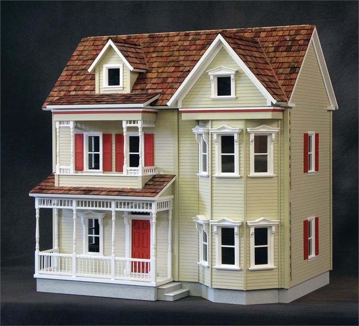 17 best images about antique doll houses on pinterest