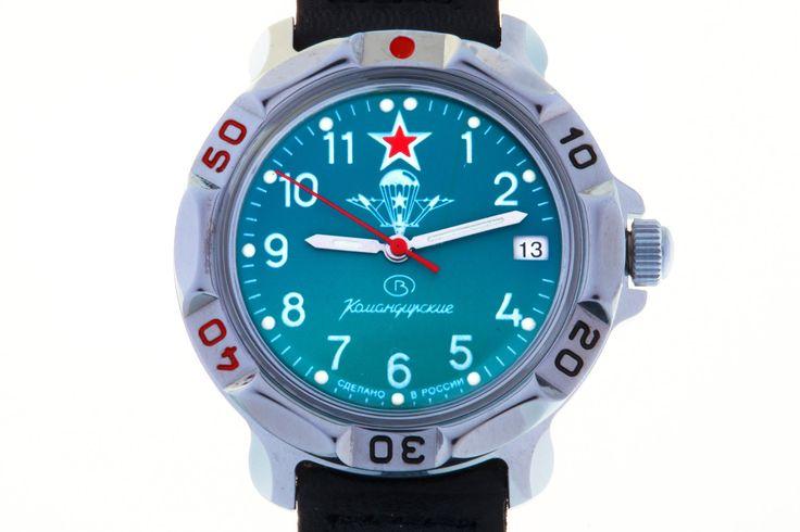 WATCH VOSTOK KOMANDIRSKIE 811307 USSR AIRBORNE TROOPS TINY EMBLEM  #watches #watch #airborne #paratrooper #paratroopers #skydiver #ussr #soviet #vdv #komandirskie