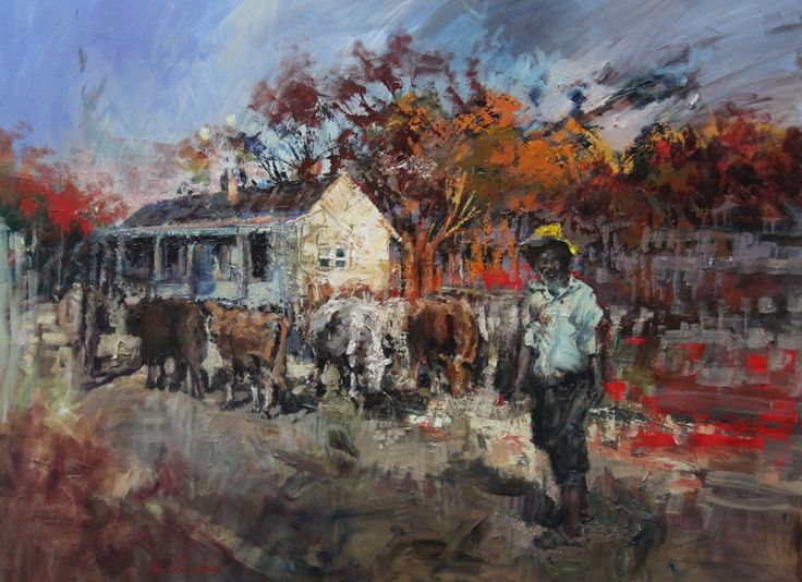 Home with the cows Eric Eatwell