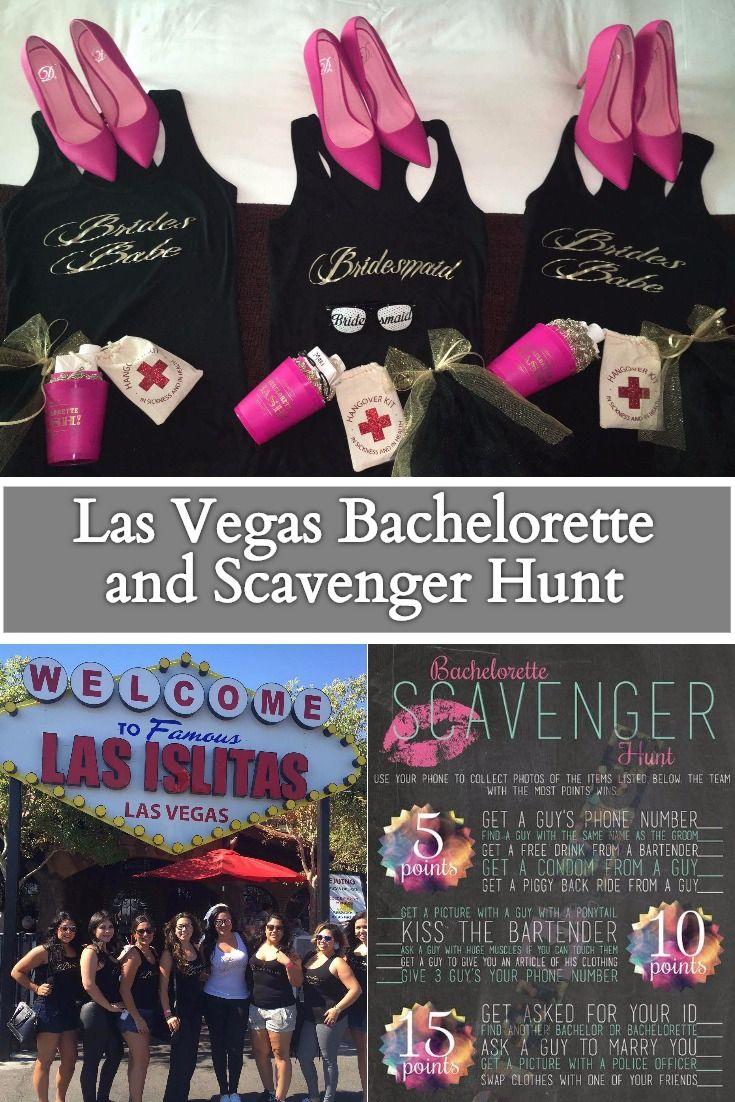las vegas bachelorette and scavenger hunt