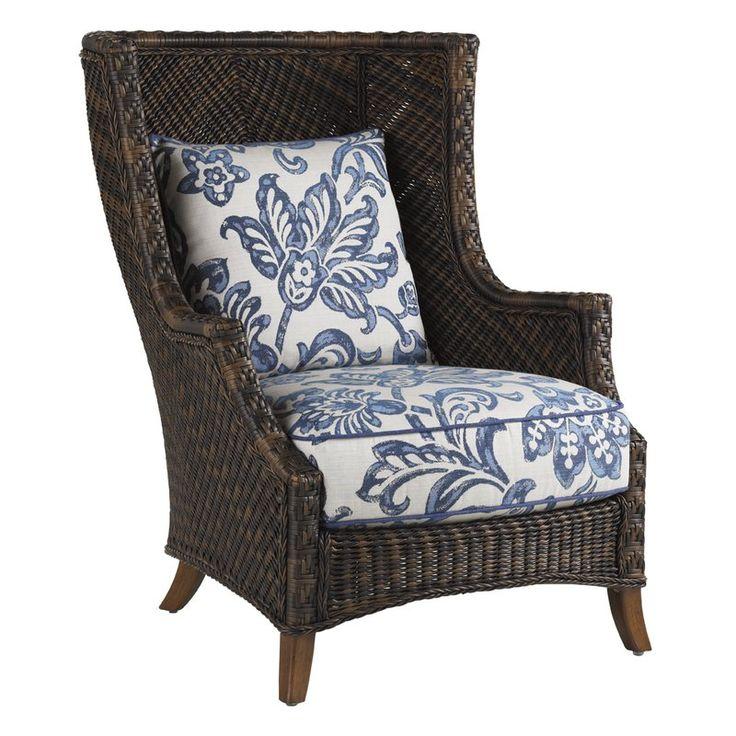 Island Estate Lanai Patio Chair with Cushions