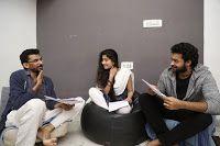 Sai Pallavi, Varun Tej New Film Workshop Stills, Sekhar Kammula directorial film features Varun Tej and Malayalam Actress Sai Pallavi photos, Producer Dil Raju,