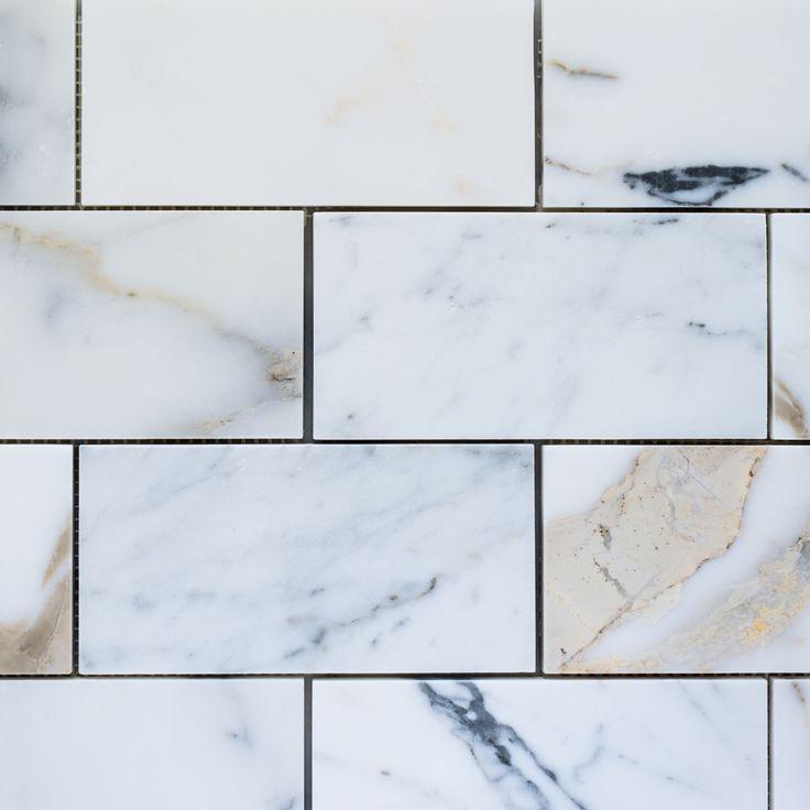 Designer Marble | Calacatta Gold Subway
