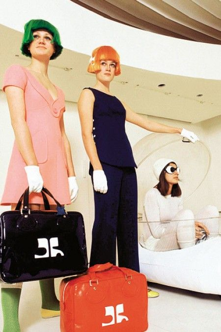 Andre Courreges was so ahead of his time, would love some of his things!