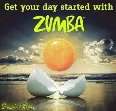 Start your Day,with Zumba ~ Come watch the sunrise and get energized for your day and weekend!