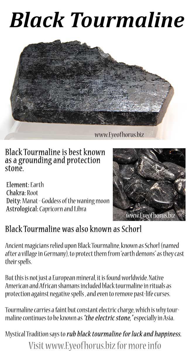 Black Tourmaline history and metaphysical, shamanistic use