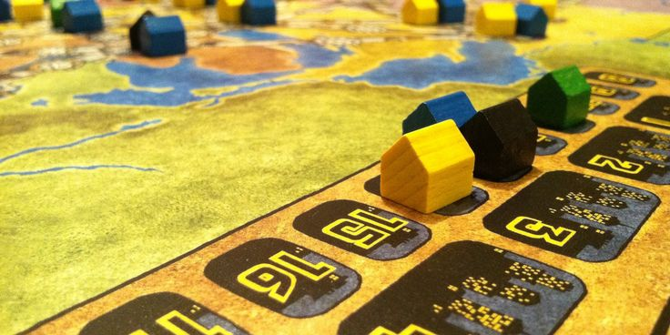 Starting an Adult Board Game Collection? These 5 Titles Will Get You Going | Inverse settlers of catan, power grid, Agricola, the resistance: Avalon, and pandemic.