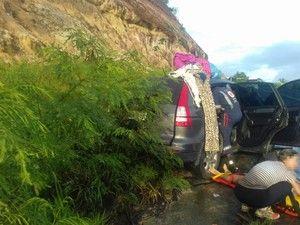 Acidente ocorreu na tarde de sábado (17), no sul do estado (Foto: Ronildo Brito/ Teixeira News)