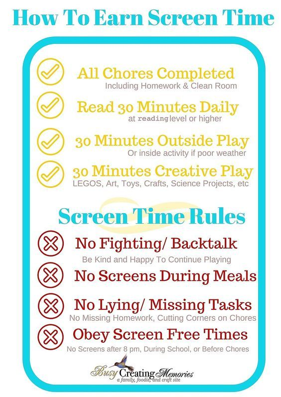 How To Teach Kids Responsible Screen Time Free Printable