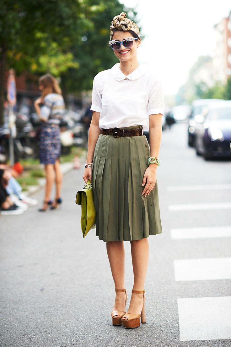 Milan Fashion Week Spring 2013 - Milan Street Style - ELLE