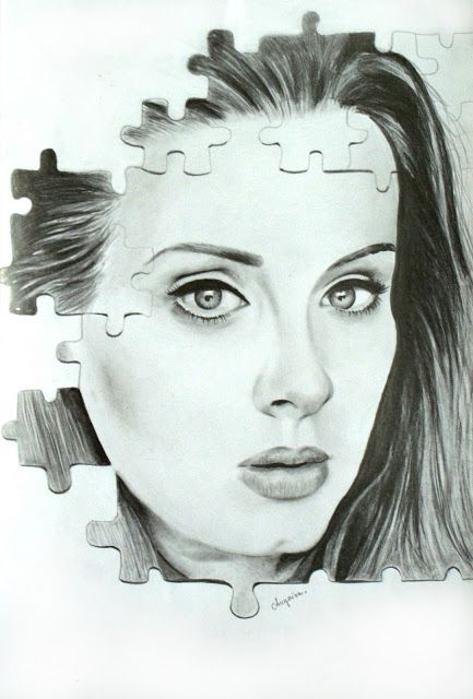 Adele Handmade Drawing