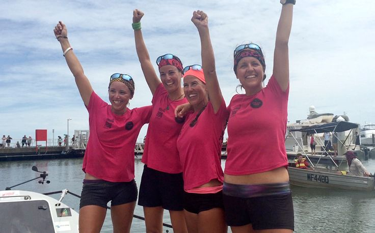 They rowed across the Pacific!