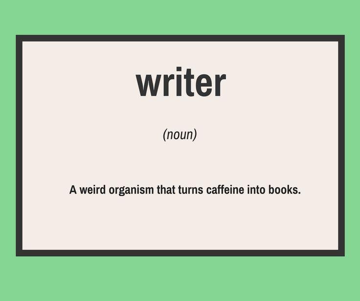 Writers and coffee