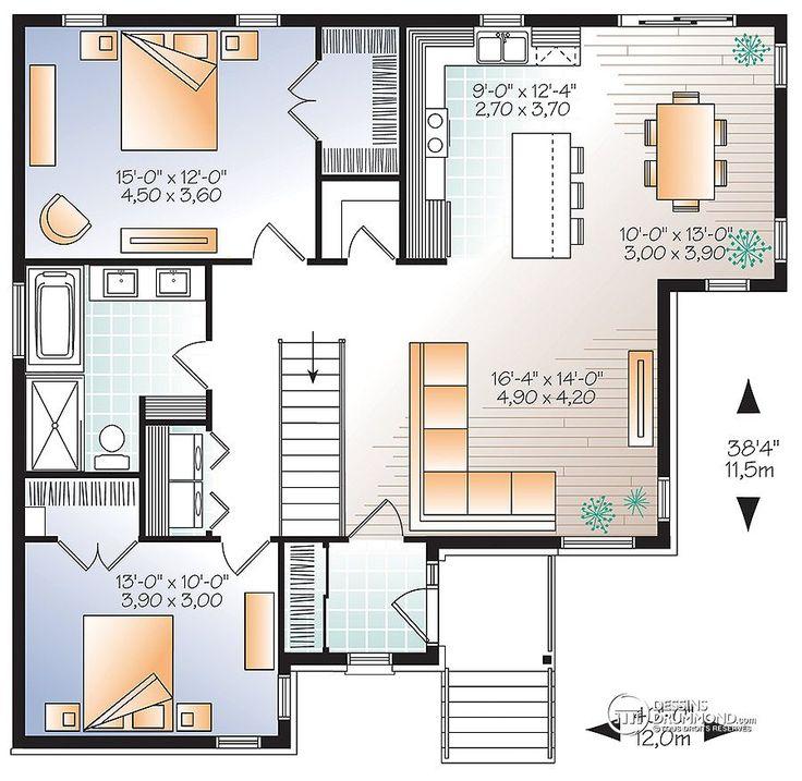 Détail du plan de Maison unifamiliale W3133-V2