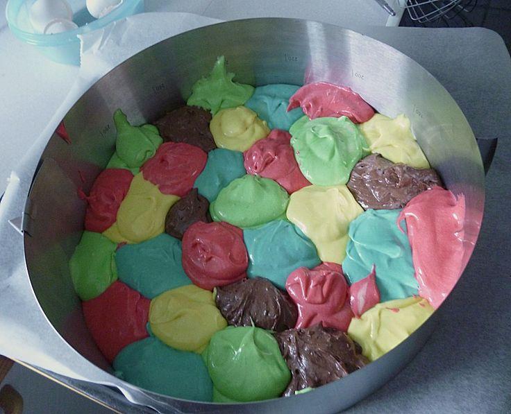 Papageienkuchen mit saurer Sahne 14
