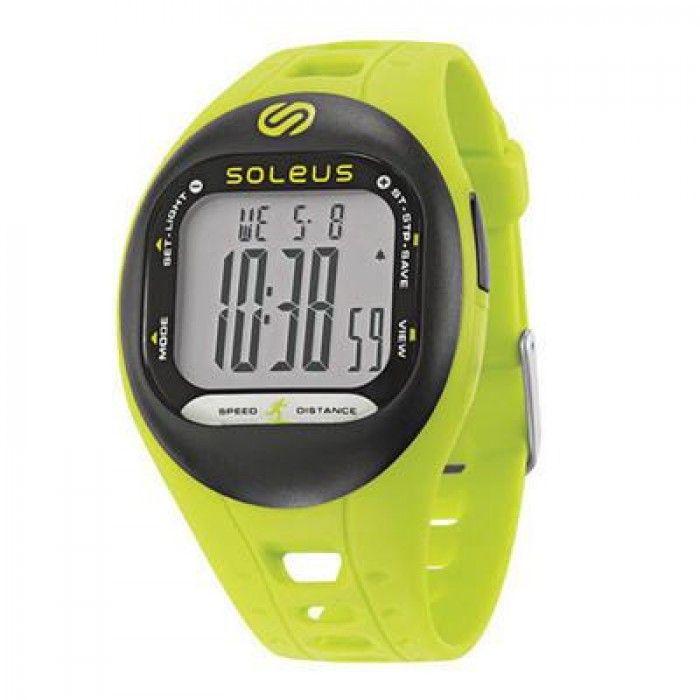 Soleus Tempo Adım Ölçer Saat (Yeşil-Siyah) - Saatler (Arasta Market Online Mağaza)