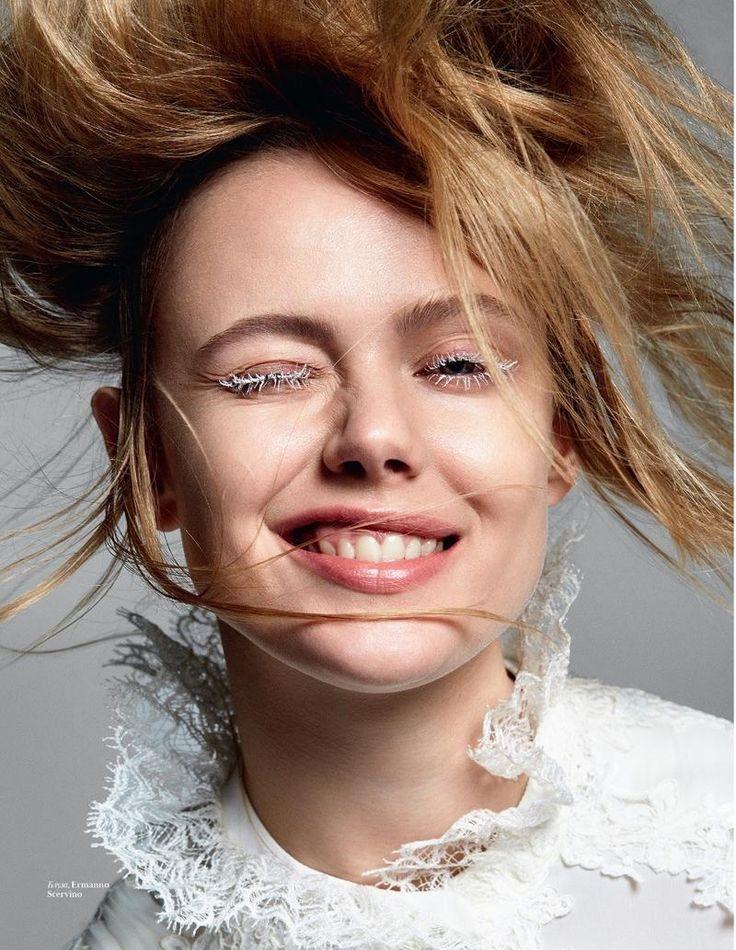 Frida Gustavsson by Dan Beleiu for Vogue Ukraine September 2017