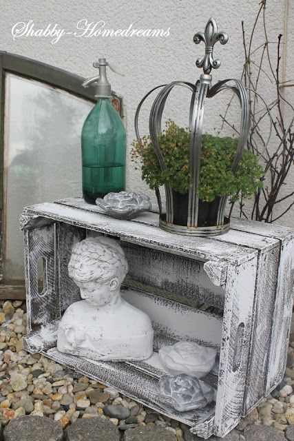 1000  images about brocante/romantische tuin on pinterest ...